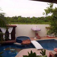 Отель Boutique Posada Las Iguanas Гондурас, Тела - отзывы, цены и фото номеров - забронировать отель Boutique Posada Las Iguanas онлайн балкон