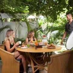 Отель Jacarandas-habitación Para 3 Personas en Mazatlán Масатлан питание фото 3