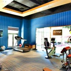 Отель Aloft Beijing, Haidian фитнесс-зал