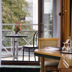 Отель Balance Hotel Leipzig Alte Messe Германия, Ройдниц-Торнберг - 1 отзыв об отеле, цены и фото номеров - забронировать отель Balance Hotel Leipzig Alte Messe онлайн балкон