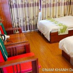 My Khanh Da Lat Hotel Далат комната для гостей