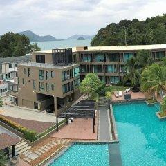 Отель The Pixel Cape Panwa Beach Таиланд, Пхукет - отзывы, цены и фото номеров - забронировать отель The Pixel Cape Panwa Beach онлайн бассейн фото 2