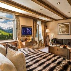 Отель Gstaad Palace Швейцария, Гштад - отзывы, цены и фото номеров - забронировать отель Gstaad Palace онлайн комната для гостей фото 4