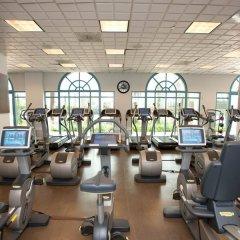 Отель Loews Santa Monica Санта-Моника фитнесс-зал фото 4