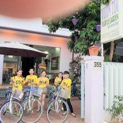 Отель Purple Garden Homestay спортивное сооружение