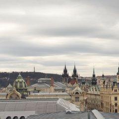 Prague Marriott Hotel Прага балкон
