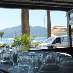 Candan Beach Hotel Мармарис приотельная территория фото 2