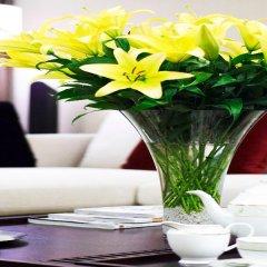 Отель Fraser Suites Guangzhou Китай, Гуанчжоу - отзывы, цены и фото номеров - забронировать отель Fraser Suites Guangzhou онлайн фитнесс-зал фото 2