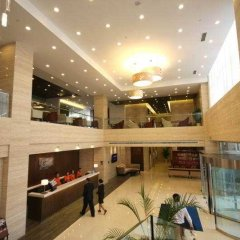 Отель Holiday Inn Express Suzhou Changjiang интерьер отеля