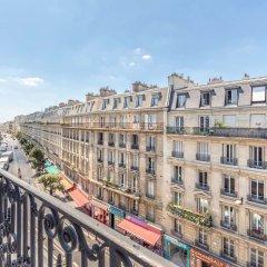 Отель Sure Hotel by Best Western Paris Gare du Nord Франция, Париж - 12 отзывов об отеле, цены и фото номеров - забронировать отель Sure Hotel by Best Western Paris Gare du Nord онлайн балкон