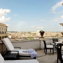 Отель Hassler Roma балкон