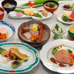 Отель Nisshokan Bettei Koyotei Нагасаки питание фото 2