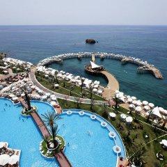Granada Luxury Resort & Spa Турция, Аланья - 1 отзыв об отеле, цены и фото номеров - забронировать отель Granada Luxury Resort & Spa онлайн пляж