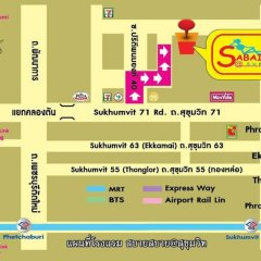 Отель Sabai Sabai @ Sukhumvit Бангкок городской автобус
