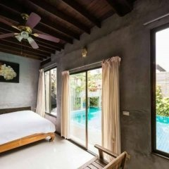 Отель Sanporn Private Pool Villa Паттайя комната для гостей