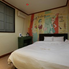 Отель Khan Motel Dapsimni Южная Корея, Сеул - отзывы, цены и фото номеров - забронировать отель Khan Motel Dapsimni онлайн комната для гостей фото 2