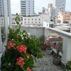 Отель Thien Truc Guest House Нячанг балкон