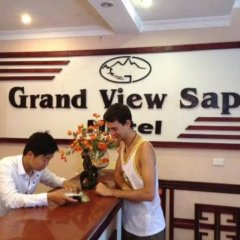 Grand View Sapa Hotel Шапа интерьер отеля