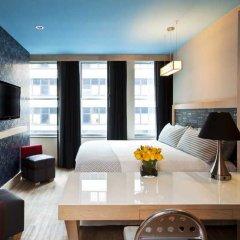 Отель TRYP By Wyndham Times Square South 4* Стандартный номер с различными типами кроватей фото 6