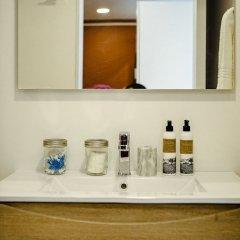 Апартаменты Comfortable Brand-new Studio in Hipódromo Мехико ванная