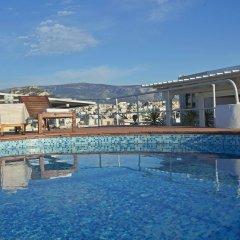 Отель Candia Hotel Греция, Афины - 3 отзыва об отеле, цены и фото номеров - забронировать отель Candia Hotel онлайн бассейн фото 2