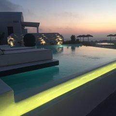 Отель Oia Sunset Villas Греция, Остров Санторини - отзывы, цены и фото номеров - забронировать отель Oia Sunset Villas онлайн бассейн фото 2
