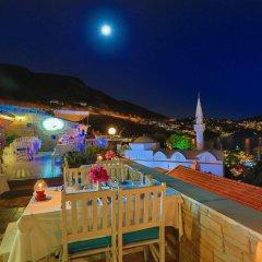 Zinbad Hotel Kalkan Турция, Калкан - 1 отзыв об отеле, цены и фото номеров - забронировать отель Zinbad Hotel Kalkan онлайн питание фото 2