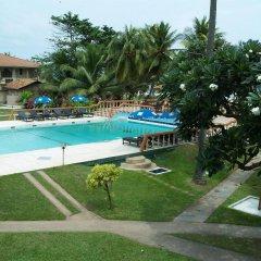 Отель Golden Star Beach Hotel Шри-Ланка, Негомбо - отзывы, цены и фото номеров - забронировать отель Golden Star Beach Hotel онлайн бассейн