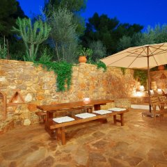 Отель Panorama Apartments Греция, Порос - 1 отзыв об отеле, цены и фото номеров - забронировать отель Panorama Apartments онлайн бассейн фото 2