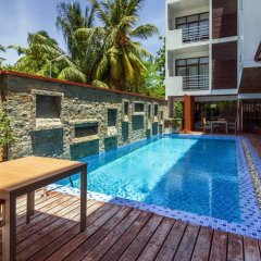 Отель Plumeria Maldives бассейн фото 2