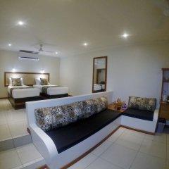 Отель Volivoli Beach Resort Фиджи, Вити-Леву - отзывы, цены и фото номеров - забронировать отель Volivoli Beach Resort онлайн комната для гостей фото 4