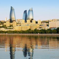 Отель Fairmont Baku at the Flame Towers Азербайджан, Баку - - забронировать отель Fairmont Baku at the Flame Towers, цены и фото номеров приотельная территория фото 2