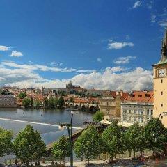 Отель Smetana Hotel Чехия, Прага - отзывы, цены и фото номеров - забронировать отель Smetana Hotel онлайн приотельная территория фото 2