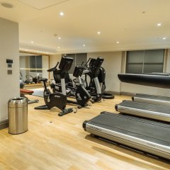 Отель Hyatt Regency London - The Churchill фитнесс-зал фото 2