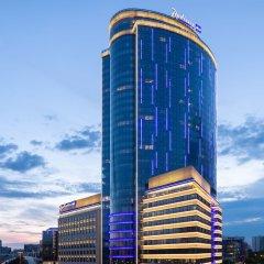 Radisson Blu Olympiyskiy Hotel Москва вид на фасад фото 2
