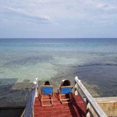 Отель Slumberland Villa's Гондурас, Остров Утила - отзывы, цены и фото номеров - забронировать отель Slumberland Villa's онлайн пляж фото 2