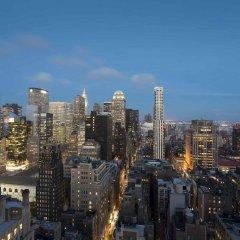 Отель Residence Inn by Marriott New York Manhattan/Times Square США, Нью-Йорк - отзывы, цены и фото номеров - забронировать отель Residence Inn by Marriott New York Manhattan/Times Square онлайн балкон
