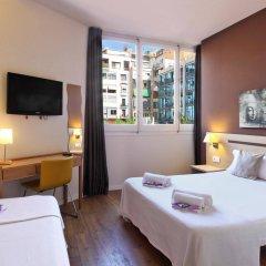 Отель Hostal Barcelona Centro Испания, Барселона - отзывы, цены и фото номеров - забронировать отель Hostal Barcelona Centro онлайн комната для гостей фото 5
