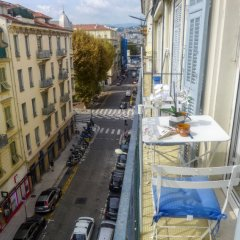 Отель FONCET Ницца балкон