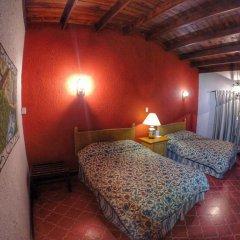Отель Parador St Cruz Мексика, Креэль - отзывы, цены и фото номеров - забронировать отель Parador St Cruz онлайн комната для гостей фото 4