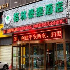 Отель GreenTree Inn ShanXi Xi'An Longshouyuan Metro Station Express Hotel Китай, Сиань - отзывы, цены и фото номеров - забронировать отель GreenTree Inn ShanXi Xi'An Longshouyuan Metro Station Express Hotel онлайн городской автобус