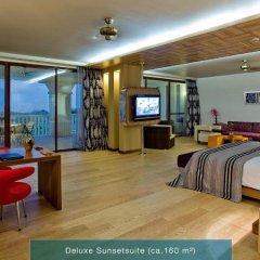 Отель The Kumul Deluxe Resort & Spa Сиде комната для гостей фото 5