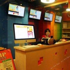 Отель Pod Inn Xi'an Xiaozhai Jixiangcun интерьер отеля фото 2