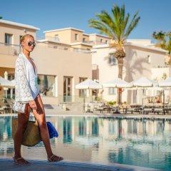 Отель St. Elias Resort & Waterpark – Ultra All Inclusive Кипр, Протарас - отзывы, цены и фото номеров - забронировать отель St. Elias Resort & Waterpark – Ultra All Inclusive онлайн фитнесс-зал фото 2