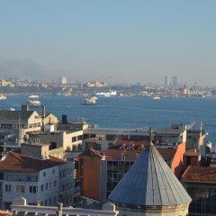 Unver Galata Apart Турция, Стамбул - отзывы, цены и фото номеров - забронировать отель Unver Galata Apart онлайн приотельная территория фото 2