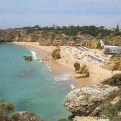Отель Maritur - Adults Only Португалия, Албуфейра - отзывы, цены и фото номеров - забронировать отель Maritur - Adults Only онлайн пляж