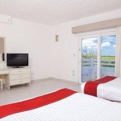 Отель Holiday Inn Cancun Arenas Мексика, Канкун - отзывы, цены и фото номеров - забронировать отель Holiday Inn Cancun Arenas онлайн комната для гостей фото 2
