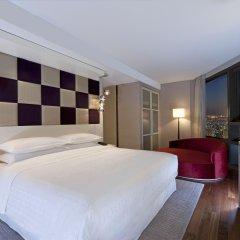 Отель Sheraton Seoul D Cube City Hotel Южная Корея, Сеул - отзывы, цены и фото номеров - забронировать отель Sheraton Seoul D Cube City Hotel онлайн комната для гостей фото 5