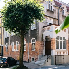 Апартаменты Sanhaus Apartments Сопот парковка