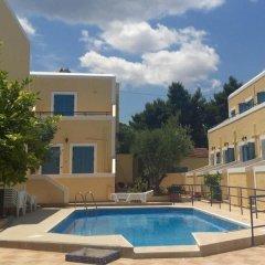 Отель Esperides Maisonettes Греция, Эгина - отзывы, цены и фото номеров - забронировать отель Esperides Maisonettes онлайн бассейн